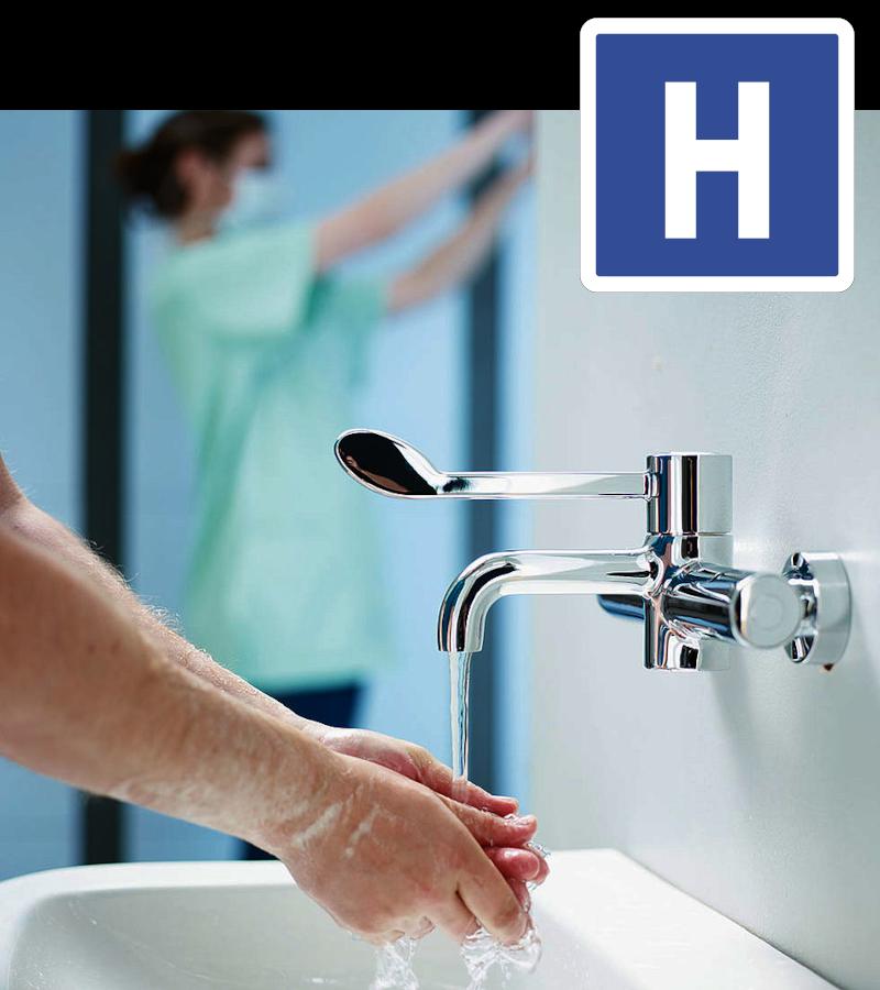 Economie d'eau à l'hopital