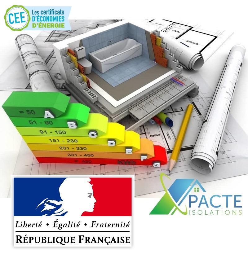 Rénvation énergétique avec Pacte Isolations_CEE
